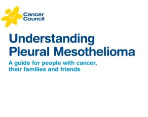 Understanding Pleural Mesothelioma Booklet